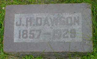 DAWSON, J. H. - Cerro Gordo County, Iowa | J. H. DAWSON