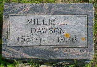 DAWSON, MILLIE E. - Cerro Gordo County, Iowa | MILLIE E. DAWSON