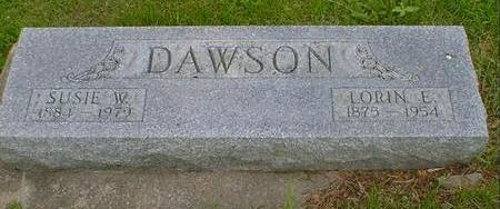 DAWSON, SUSIE W. - Cerro Gordo County, Iowa | SUSIE W. DAWSON