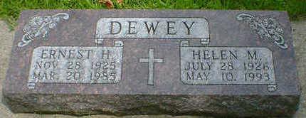 DEWEY, HELEN M. - Cerro Gordo County, Iowa | HELEN M. DEWEY