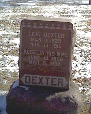 DEXTER, ROSELIA - Cerro Gordo County, Iowa | ROSELIA DEXTER