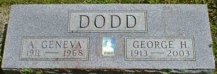 DODD, GEORGE H - Cerro Gordo County, Iowa | GEORGE H DODD