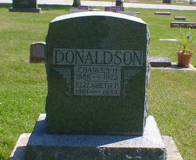 DONALDSON, CHARLES H. - Cerro Gordo County, Iowa | CHARLES H. DONALDSON
