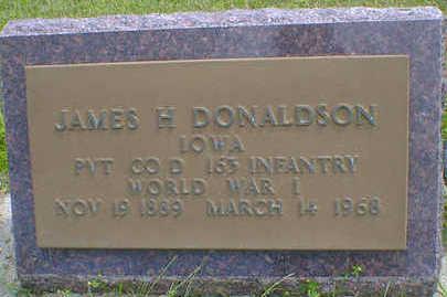 DONALDSON, JAMES H. - Cerro Gordo County, Iowa | JAMES H. DONALDSON