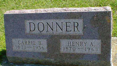 DONNER, CARRIE B. - Cerro Gordo County, Iowa | CARRIE B. DONNER