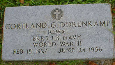 DORENKAMP, CORTLAND G. - Cerro Gordo County, Iowa | CORTLAND G. DORENKAMP