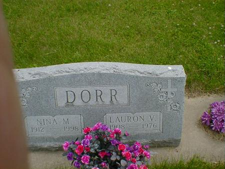 DORR, LAURON V. - Cerro Gordo County, Iowa | LAURON V. DORR