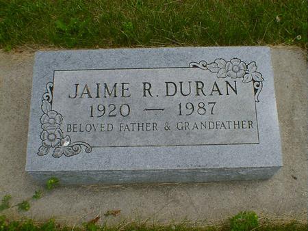 DURAN, JAIME R. - Cerro Gordo County, Iowa | JAIME R. DURAN