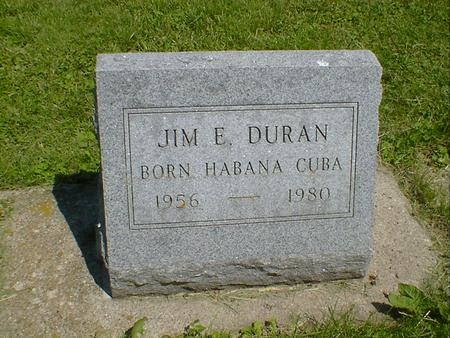 DURAN, JIM E. - Cerro Gordo County, Iowa | JIM E. DURAN