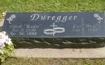 DUREGGER, EDITH - Cerro Gordo County, Iowa   EDITH DUREGGER