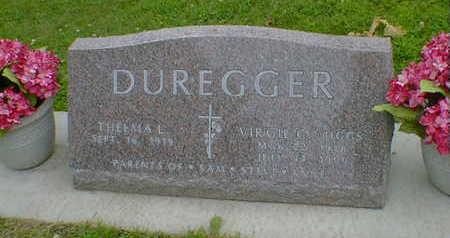DUREGGER, VIRGIL C.