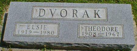 DVORAK, ELSIE - Cerro Gordo County, Iowa | ELSIE DVORAK
