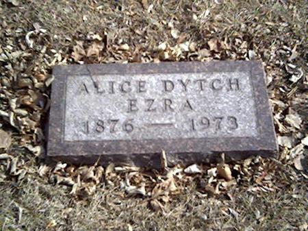 EZRA, ALICE (DYTCH) - Cerro Gordo County, Iowa | ALICE (DYTCH) EZRA