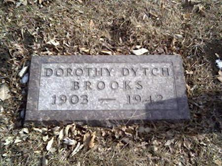 DYTCH BROOKS, DOROTHY - Cerro Gordo County, Iowa | DOROTHY DYTCH BROOKS