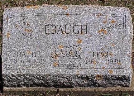 EBAUGH, LEWIS L - Cerro Gordo County, Iowa | LEWIS L EBAUGH
