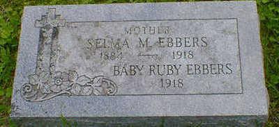 EBBERS, SELMA M. - Cerro Gordo County, Iowa | SELMA M. EBBERS