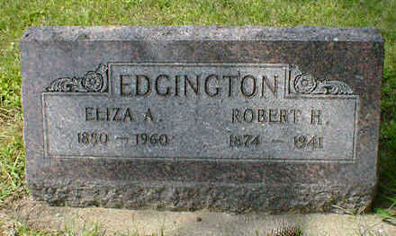 EDGINGTON, ROBERT H. - Cerro Gordo County, Iowa | ROBERT H. EDGINGTON