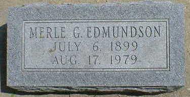 EDMUNDSON, MERLE G. - Cerro Gordo County, Iowa | MERLE G. EDMUNDSON
