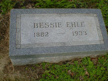 EHLE, BESSIE - Cerro Gordo County, Iowa | BESSIE EHLE