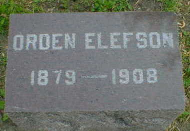 ELEFSON, ORDEAN - Cerro Gordo County, Iowa | ORDEAN ELEFSON