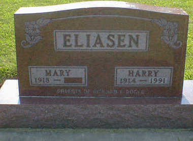 ELIASEN, HARRY - Cerro Gordo County, Iowa | HARRY ELIASEN