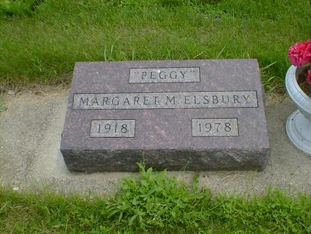 ELSBURY, MARGARET