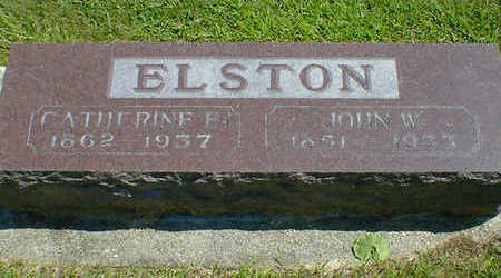 ELSTON, JOHN W. - Cerro Gordo County, Iowa | JOHN W. ELSTON