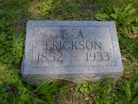 ERICKSON, E. A. - Cerro Gordo County, Iowa | E. A. ERICKSON