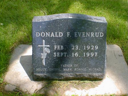 EVENRUD, DONALD F. - Cerro Gordo County, Iowa | DONALD F. EVENRUD