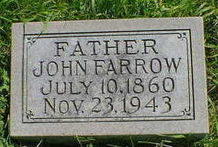 FARROW, JOHN - Cerro Gordo County, Iowa | JOHN FARROW