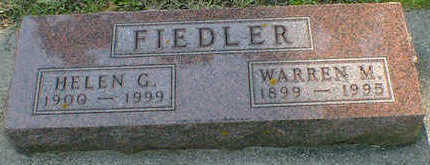 FIEDLER, WARREN M. - Cerro Gordo County, Iowa | WARREN M. FIEDLER