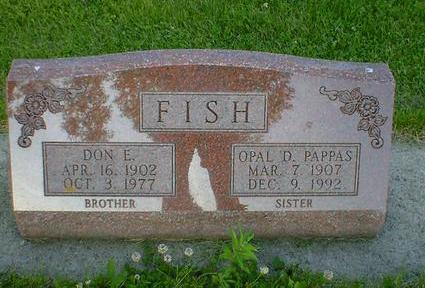FISH, DON E. - Cerro Gordo County, Iowa | DON E. FISH