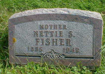 FISHER, NETTIE S. - Cerro Gordo County, Iowa | NETTIE S. FISHER