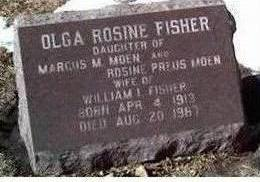 FISHER, OLGA - Cerro Gordo County, Iowa | OLGA FISHER