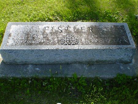 FISTLER, HELEN G. - Cerro Gordo County, Iowa | HELEN G. FISTLER