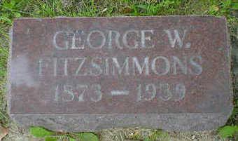 FITZSIMMONS, GEORGE W. - Cerro Gordo County, Iowa | GEORGE W. FITZSIMMONS