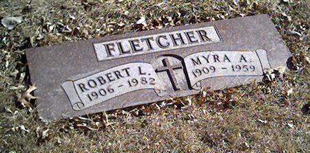 FLETCHER, MYRA - Cerro Gordo County, Iowa | MYRA FLETCHER
