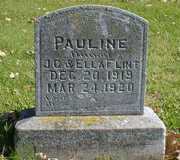 FLINT, PAULINE - Cerro Gordo County, Iowa | PAULINE FLINT