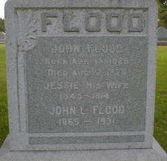 FLOOD, JESSIE - Cerro Gordo County, Iowa | JESSIE FLOOD