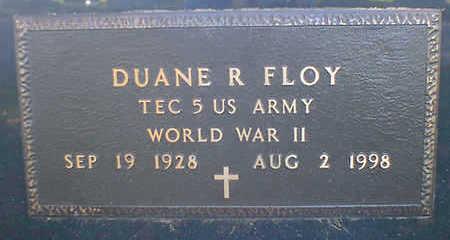 FLOY, DUANE R. - Cerro Gordo County, Iowa | DUANE R. FLOY