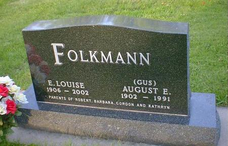 FOLKMANN, AUGUST E.