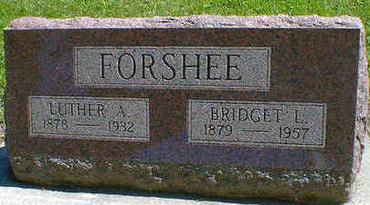 FORSHEE, LUTHER A. - Cerro Gordo County, Iowa | LUTHER A. FORSHEE