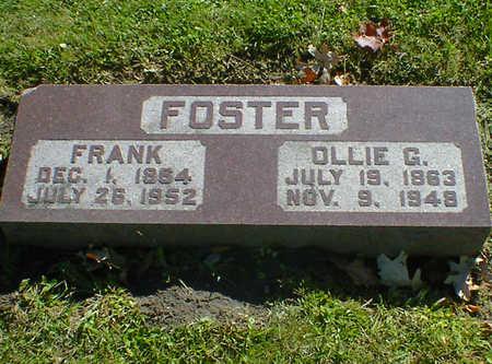FOSTER, FRANK - Cerro Gordo County, Iowa | FRANK FOSTER