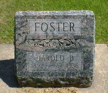 FOSTER, HAROLD B. - Cerro Gordo County, Iowa | HAROLD B. FOSTER