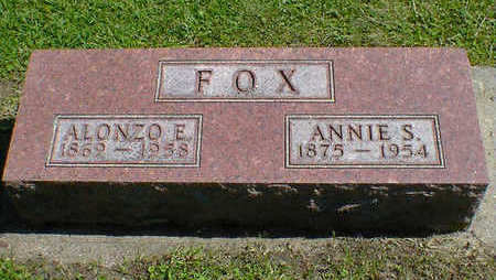 FOX, ALONZO E. - Cerro Gordo County, Iowa | ALONZO E. FOX