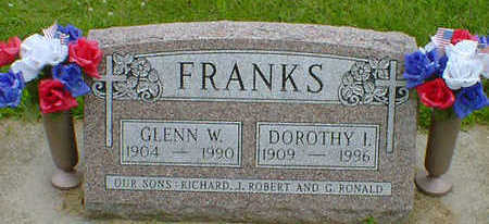 FRANKS, DOROTHY I. - Cerro Gordo County, Iowa | DOROTHY I. FRANKS