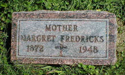 FREDRICKS, MARGARET - Cerro Gordo County, Iowa | MARGARET FREDRICKS