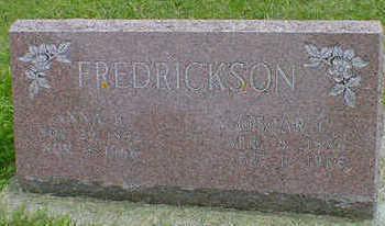 FREDRICKSON, ANNA B. - Cerro Gordo County, Iowa | ANNA B. FREDRICKSON