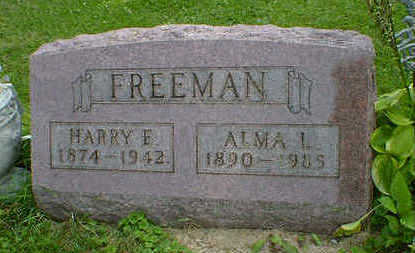 FREEMAN, HARRY E. - Cerro Gordo County, Iowa | HARRY E. FREEMAN