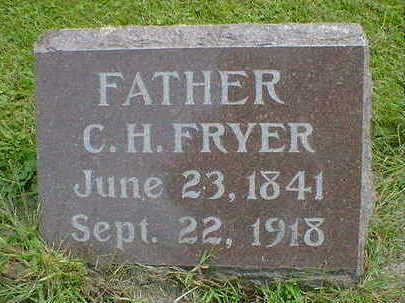 FRYER, C. H. - Cerro Gordo County, Iowa | C. H. FRYER